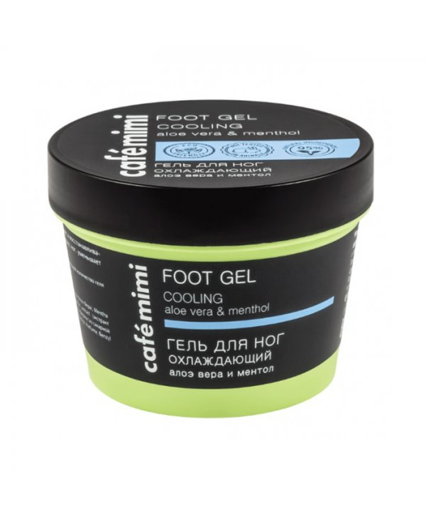 Cafe Mimi Cooling Gel Ποδιών 110ml