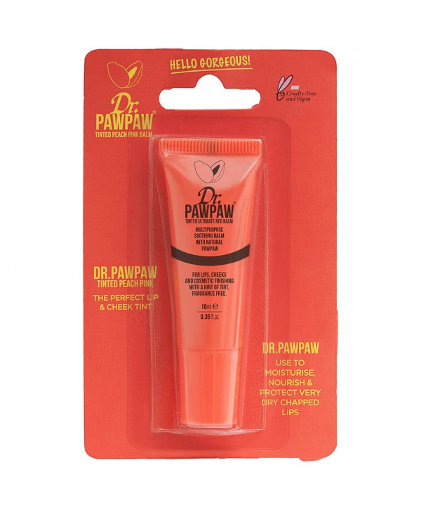 Dr.PAWPAW Tinted Peach Pink Balm 10ml