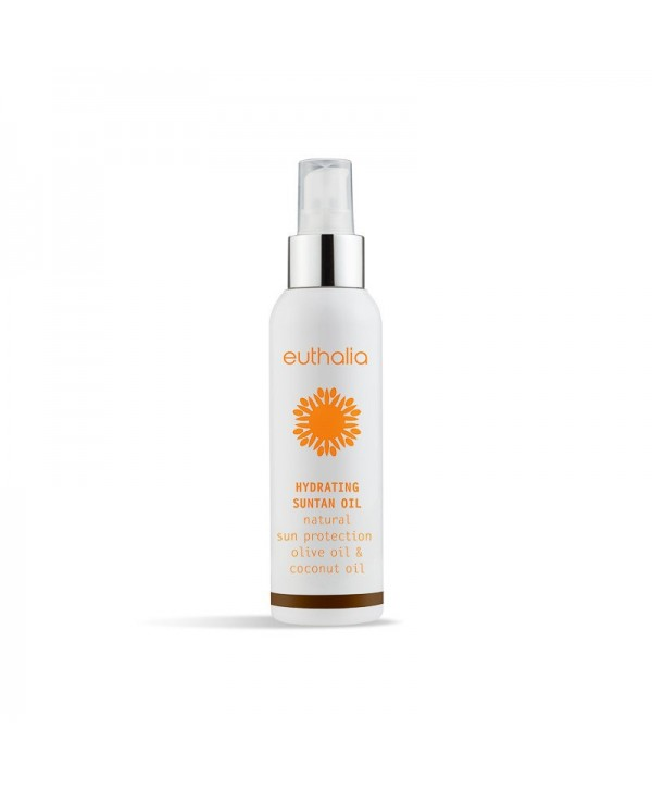Euthalia Hydrating Suntan Oil - Αντηλιακό Λάδι 100ml
