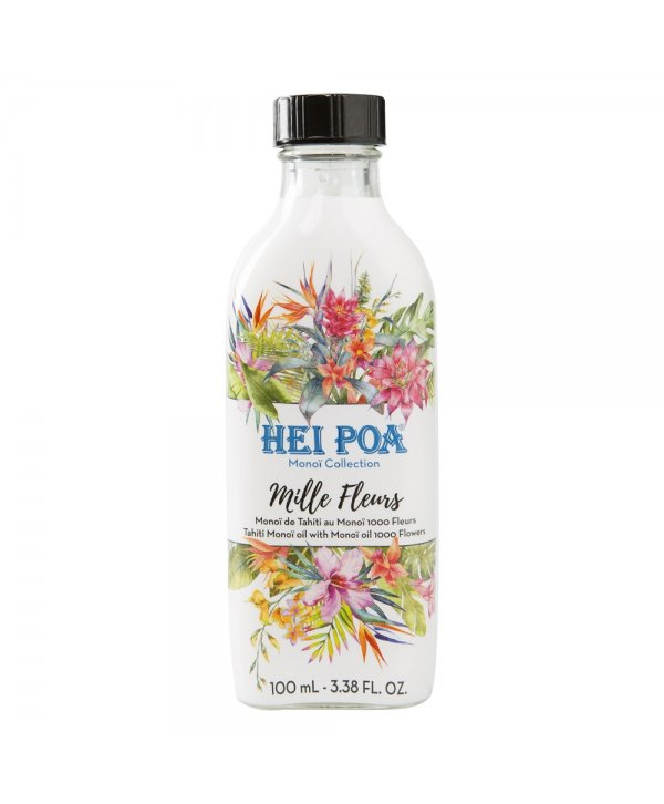 Hei Poa Monoi Oil 1000 Flowers 100ml