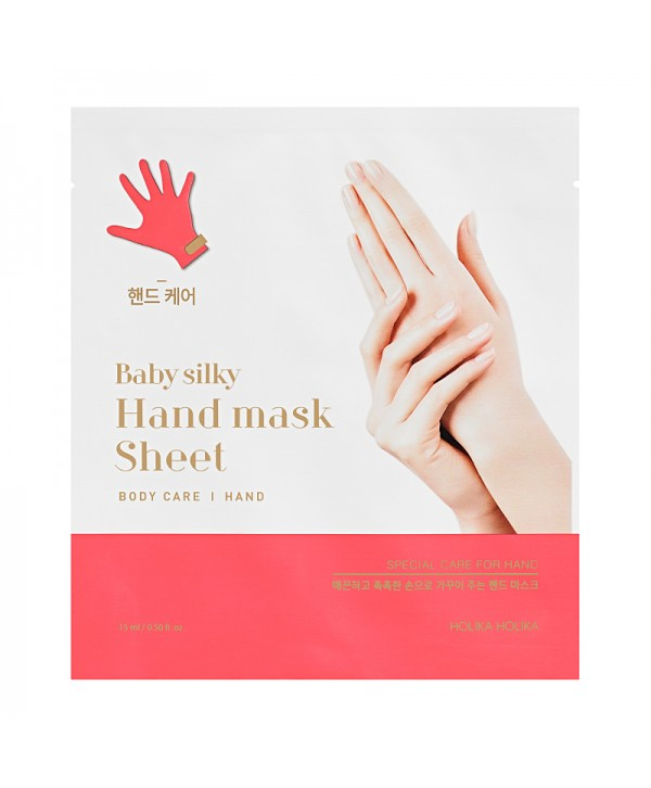 Holika Holika Baby Silky Hand Mask Sheet 15ml