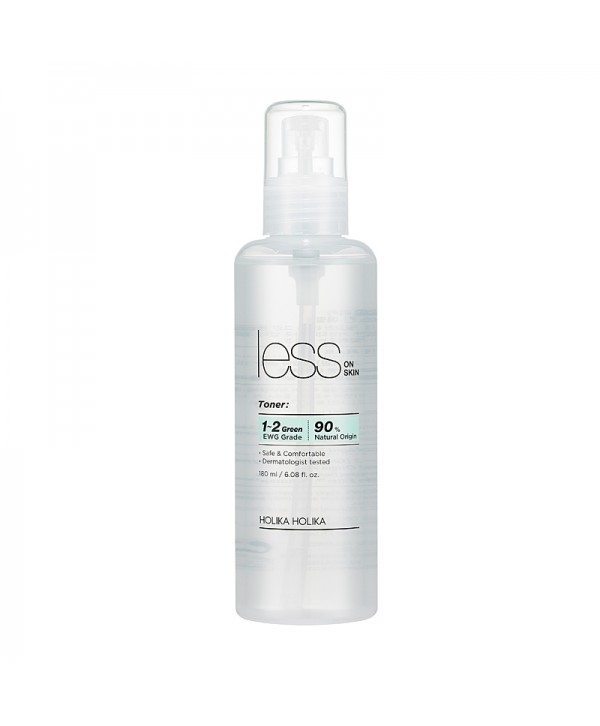 Holika Holika Less On Skin Toner 180ml