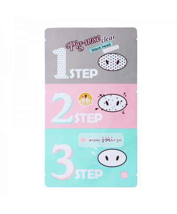 Holika Holika Pig Clear Blackhead 3-Step Kit 8g