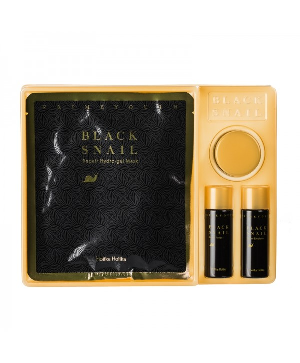 Holika Holika Prime Youth Black Snail Kit