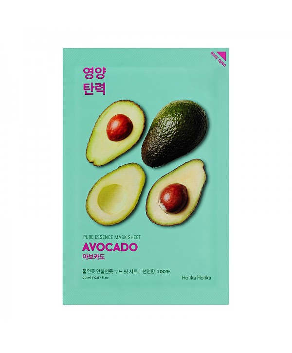 Holika Holika Pure Essence Mask Sheet - Avocado 20ml