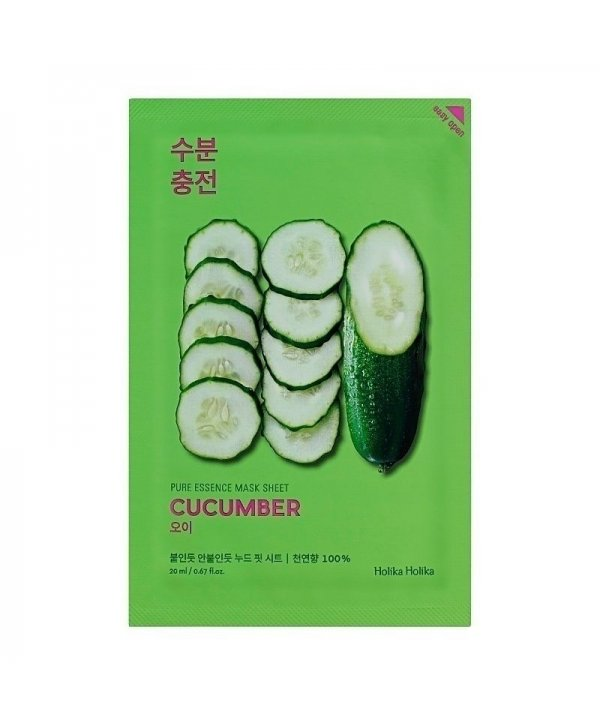 Holika Holika Pure Essence Mask Sheet - Cucumber 20ml