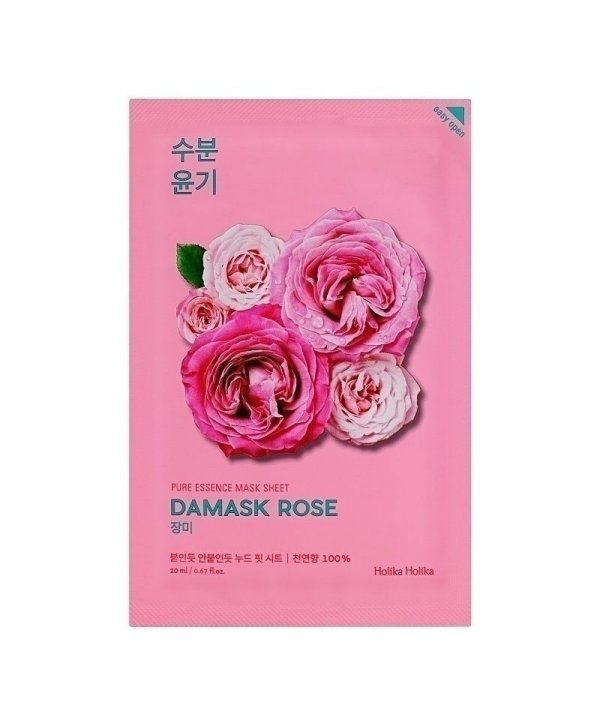 Holika Holika Pure Essence Mask Sheet - Damask Rose 20ml