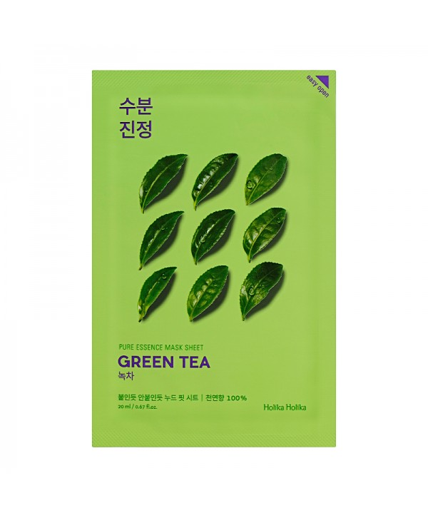 Holika Holika Pure Essence Mask Sheet - Green Tea 20ml