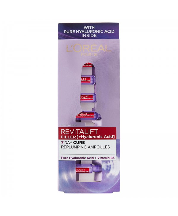 L'Oréal Paris Revitalift Filler Αμπούλες 7x1.3ml