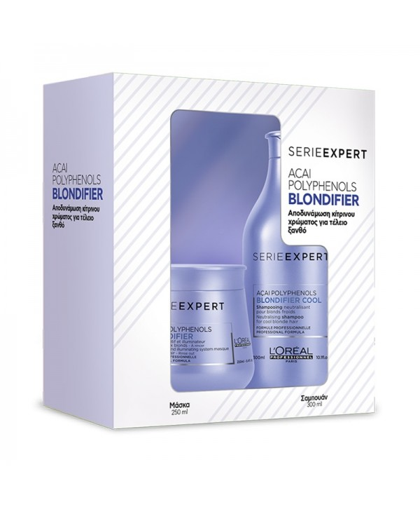 L'Oréal Professionnel Set Blondifier (Cool Shampoo 300ml & Μάσκα 250ml)