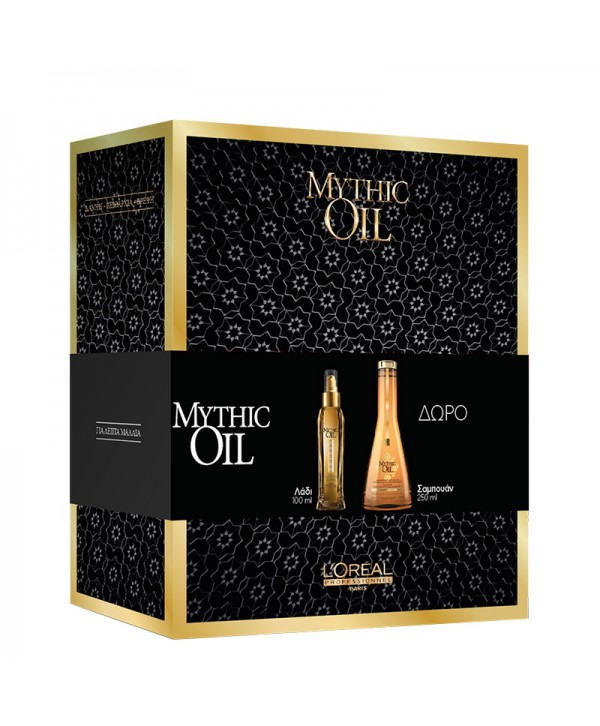 L'Oréal Professionnel Set Mythic Oil (Shampoo για Λεπτά Μαλλιά 250ml & Λάδι Huile Originale 100ml)