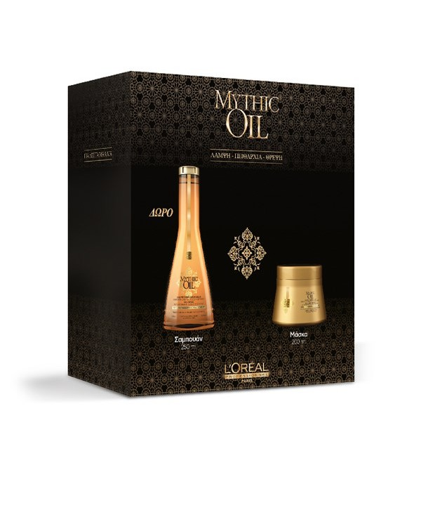 L'Oréal Professionnel Set Mythic Oil για Λεπτά Μαλλιά (Shampoo 250ml & Μάσκα 200ml)