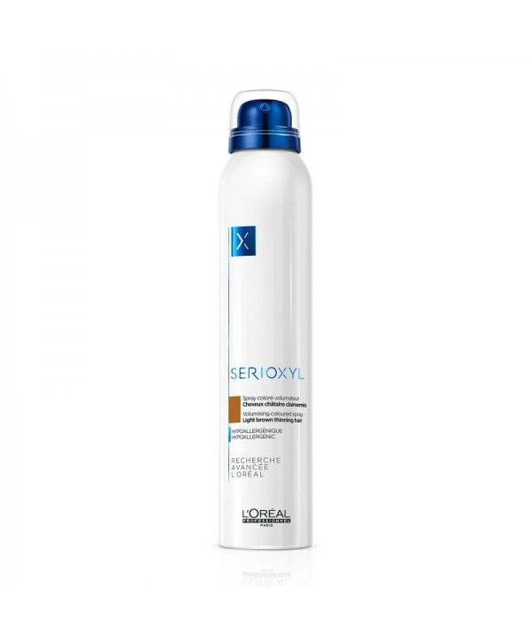 L'Oréal Professionnel Serioxyl Spray Ανοιχτό Καστανό 200ml