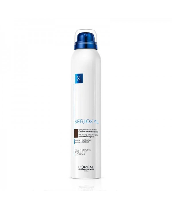 L'Oréal Professionnel Serioxyl Spray Καστανό 200ml