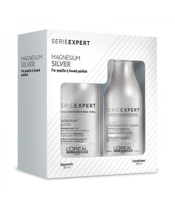 L'Oréal Professionnel Set Silver (Shampoo 300ml & Conditioner 200ml)