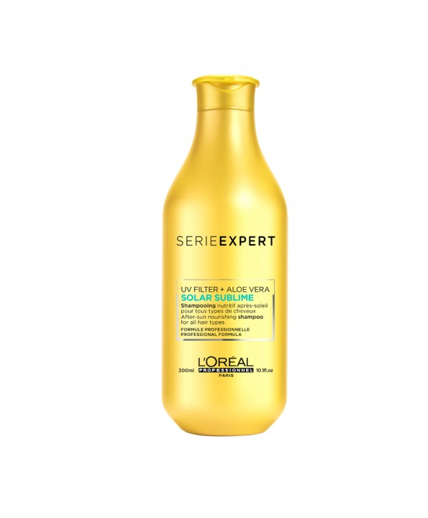 L'Oréal Professionnel Solar Sublime UV Filter + Aloe Vera Shampoo 300ml