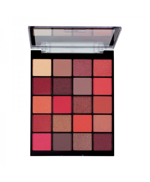 MUA Eyeshadow Palette 20 Shade - Flame Thrower 22g