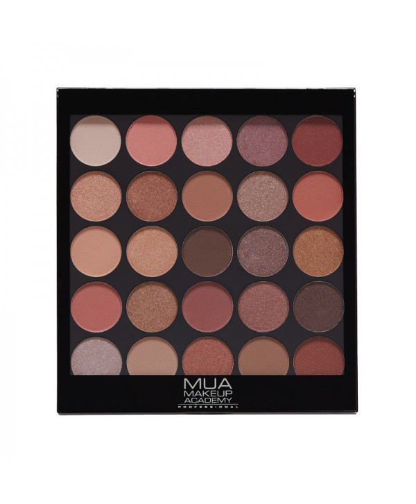 MUA Eyeshadow Palette 25 Shade - Natural Obsession 17g