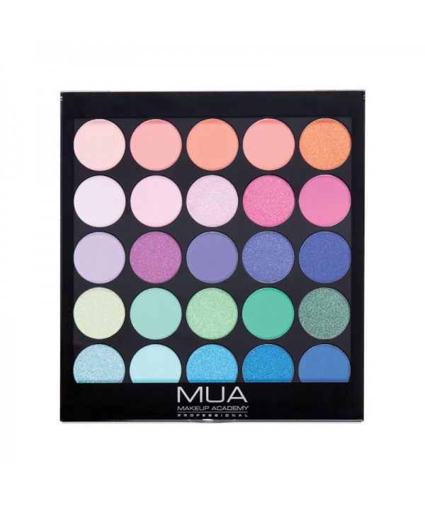 MUA Eyeshadow Palette 25 Shade - Tropical Oceana 17g