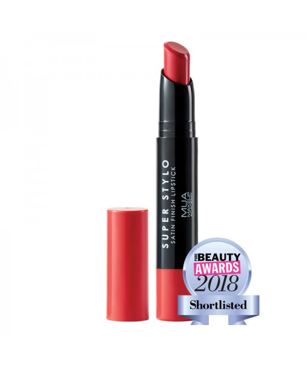 MUA Super Stylo Satin Finish Lipstick 2.4g (4 αποχρώσεις)