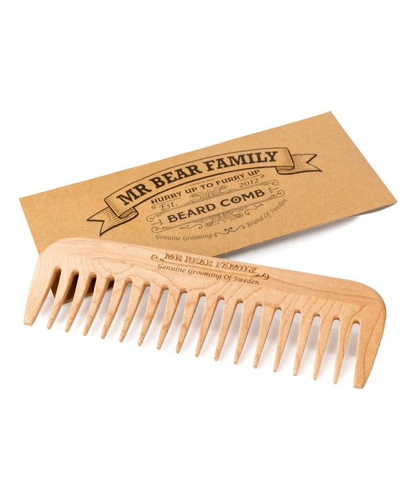 Mr Bear Family Beard Comb