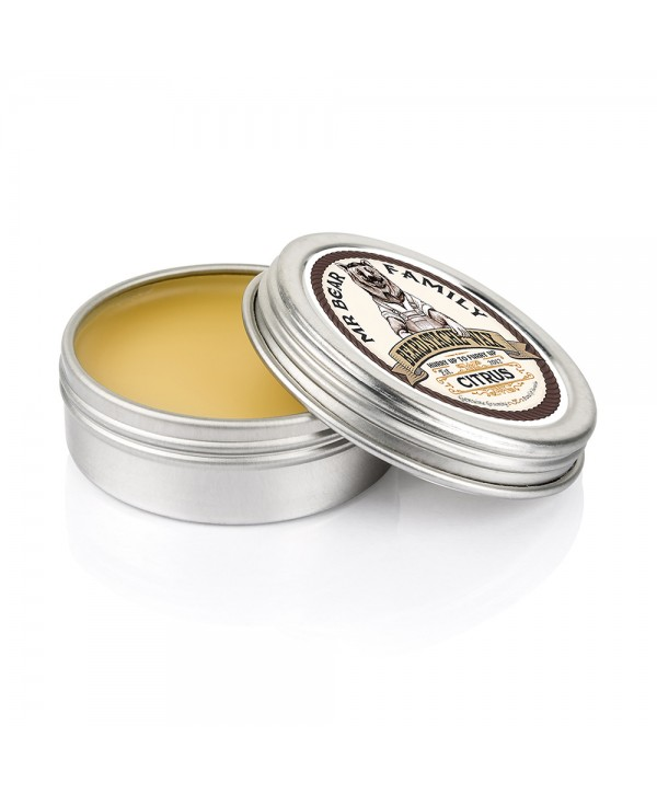 Mr Bear Family Beard Stache Wax Citrus 30ml