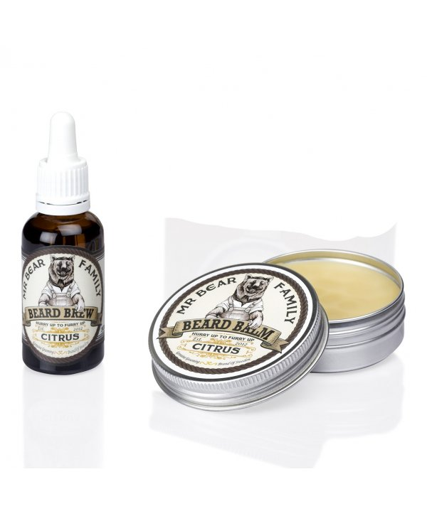 Mr Bear Family Brew & Balm Citrus Pack