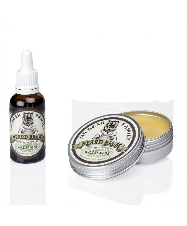 Mr Bear Family Brew & Balm Wilderness Pack