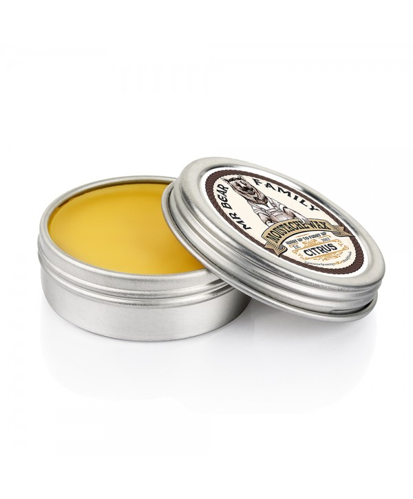 Mr Bear Family Moustache Wax Citrus 30ml