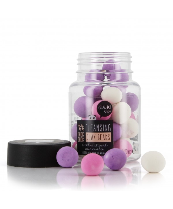 Oh K! Chok Chok Cleansing Clay Beads 34g