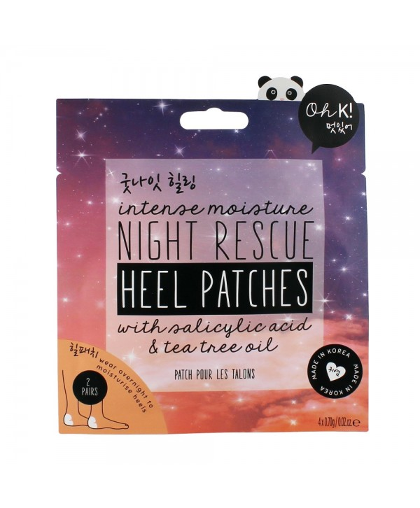 Oh K! Night Rescue Heel Patches 4x0.70g