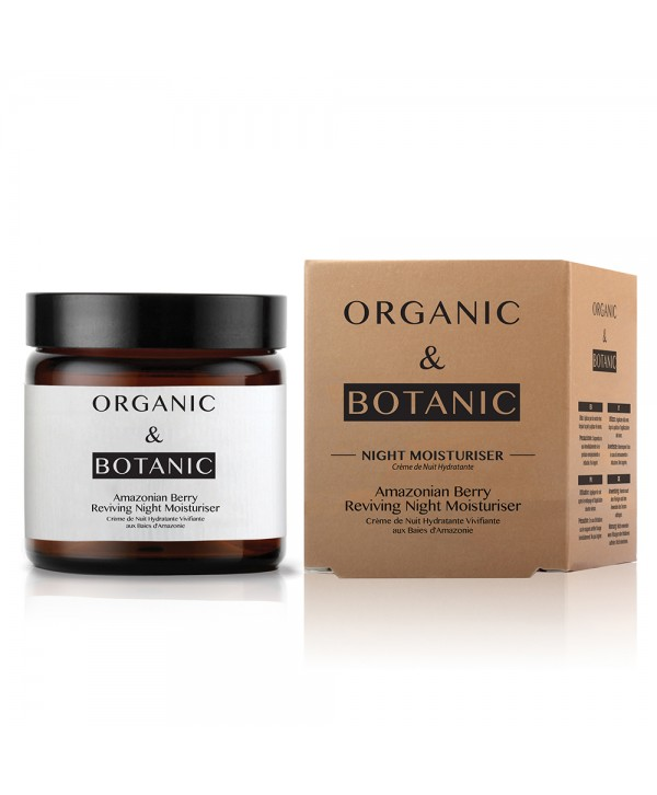 Organic & Botanic Amazonian Berry Reviving Night Moisturiser 50ml