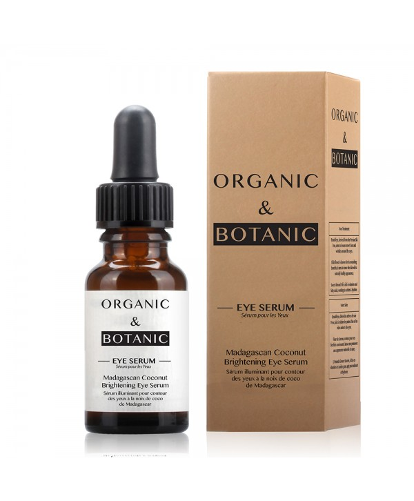 Organic & Botanic Madagascan Coconut Brightening Eye Serum 15ml