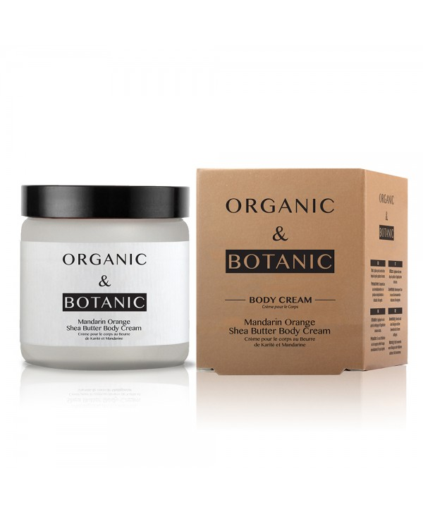 Organic & Botanic Mandarin Orange Shea Butter Body Cream 100ml