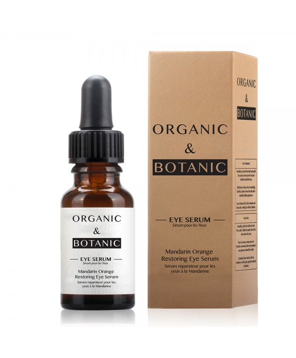 Organic & Botanic Mandarin Orange Restorative Eye Serum 15ml