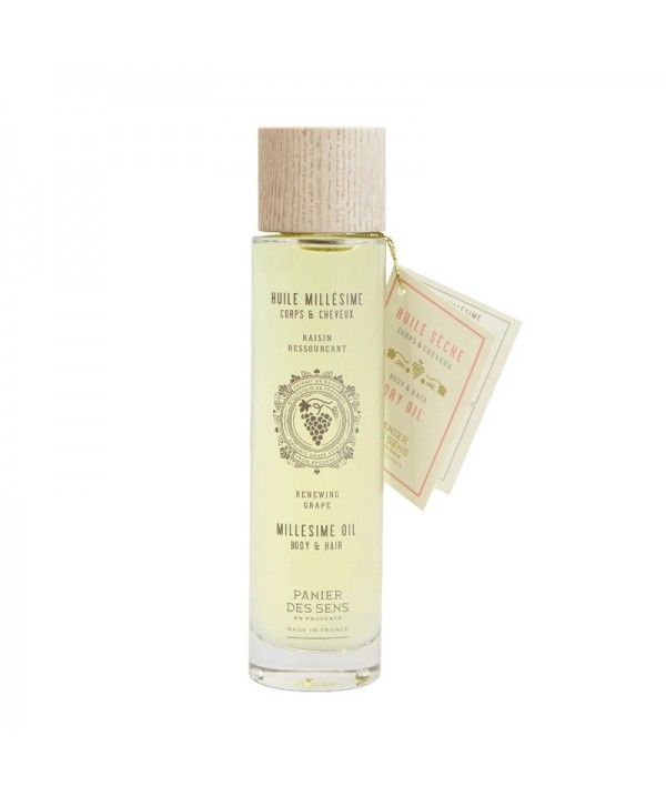 Panier Des Sens Grape Millesime Oil for Body & Hair 100ml