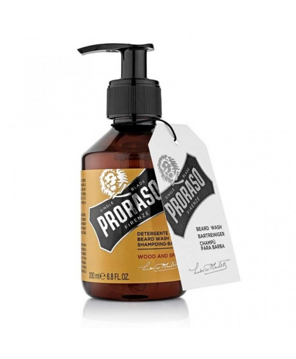Proraso Beard Shampoo Wood & Spice 200ml